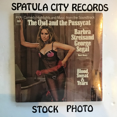 Barbra Streisand, George Segal and Blood, Sweat ad Tears - The Owl and the Pussycat - soundtrack - SEALED - vinyl record LP