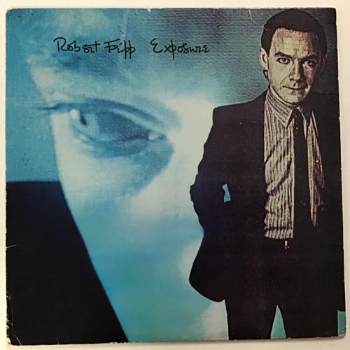 Robert Fripp - Exposure Vinyl record