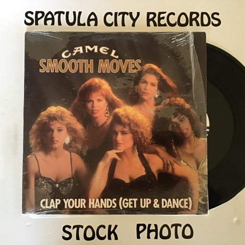 Smooth Moves - Clap Your Hands - PROMO - vinyl record LP