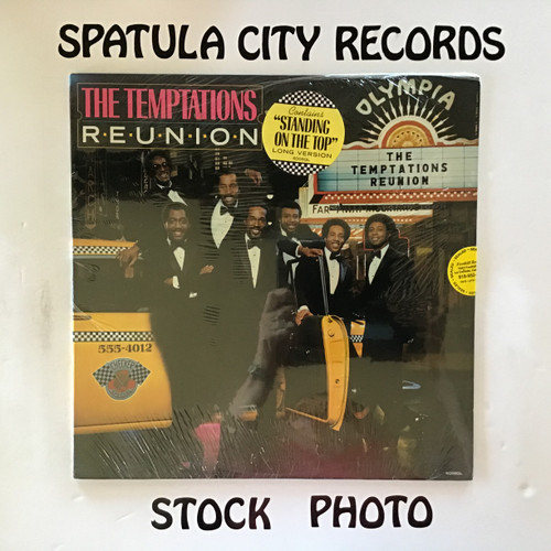 Temptations, The - Reunion - SEALED - vinyl record LP