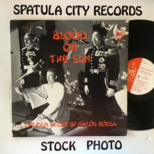 Miklos Rozsa - Blood on the Sun - soundtrack - vinyl record LP