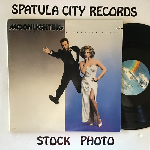 Moonlighting - compilation - soundtrack - vinyl record LP