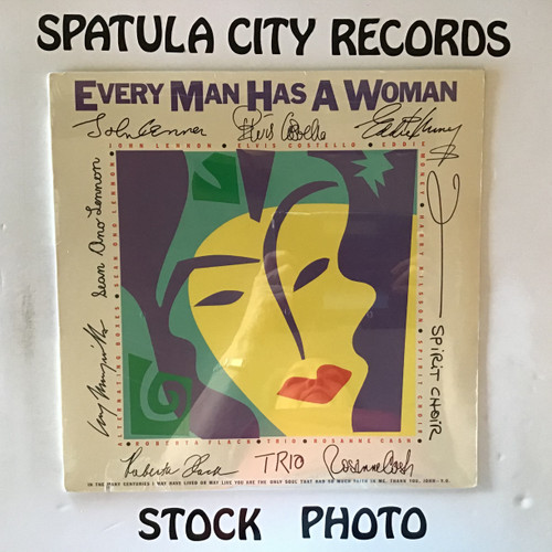 Every Man Has a Woman - compilation - SEALED - vinyl record LP