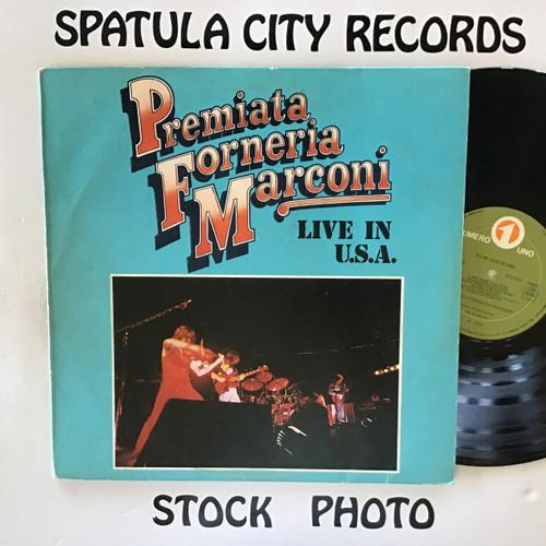 Premiata Forneria Marconi - Live in the USA - IMPORT - vinyl record LP
