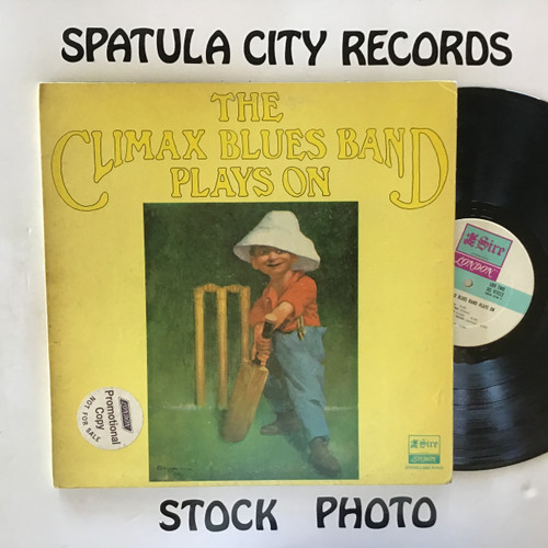Climax Chicago Blues Band - The Climax Chicago Blues Band Plays On - vinyl record LP