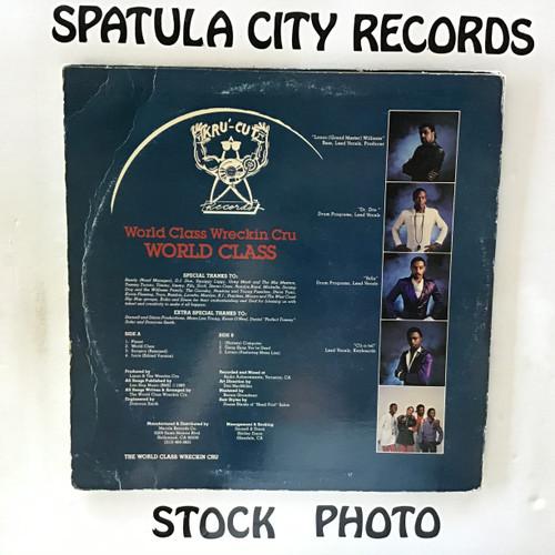World Class Wreckin Cru, The - World Class - vinyl record LP
