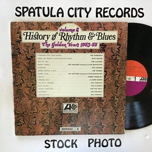 History of Rhythm and Blues Vol. 2 The Golden Years (1953-1955) - compilation - MONO - vinyl record LP