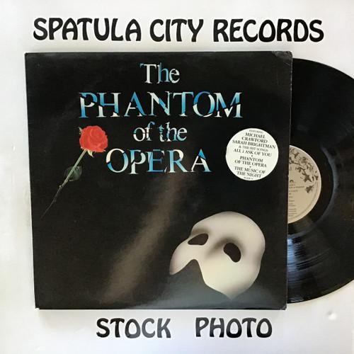 Andrew Lloyd Webber - The Phantom of The Opera - IMPORT - double vinyl record LP