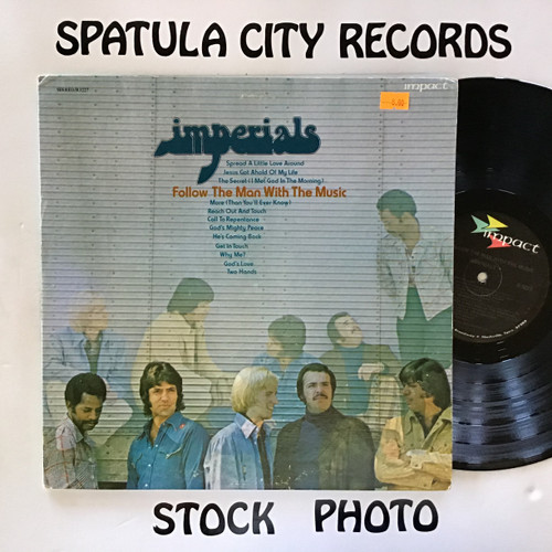 Imperials - Follow The Man With the Music - vinyl record LP
