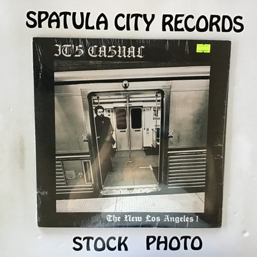It's Casual - The New Los Angeles I-Through the Eyes of a Bus Rider - SEALED - vinyl record LP