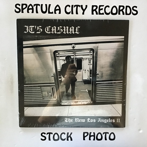 It's Casual - The New Los Angeles II-Less Violence, More Violins - SEALED - vinyl record LP