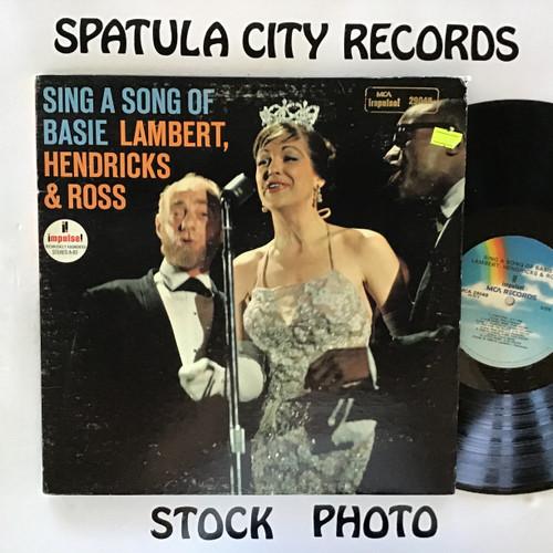 Lambert, Hendricks and Ross - Sing A Song of Basie - vinyl record LP
