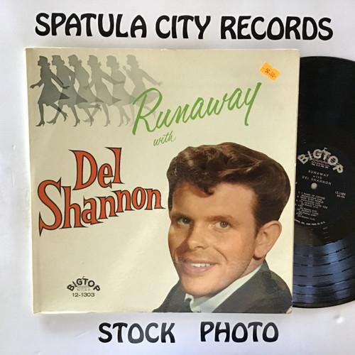Del Shannon - Runaway with Del Shannon - MONO - vinyl record LP