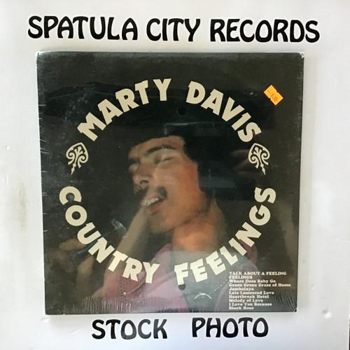Marty Davis - Country Feelings - SEALED - vinyl record LP