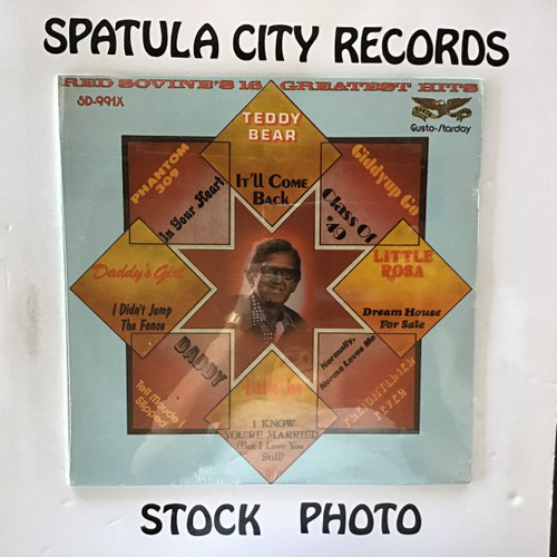 Red Sovine - Red Sovine's 16 Greatest Hits - SEALED - vinyl record LP