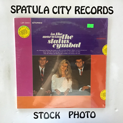 Status Cymbal, The - In the Morning - SEALED - vinyl record LP