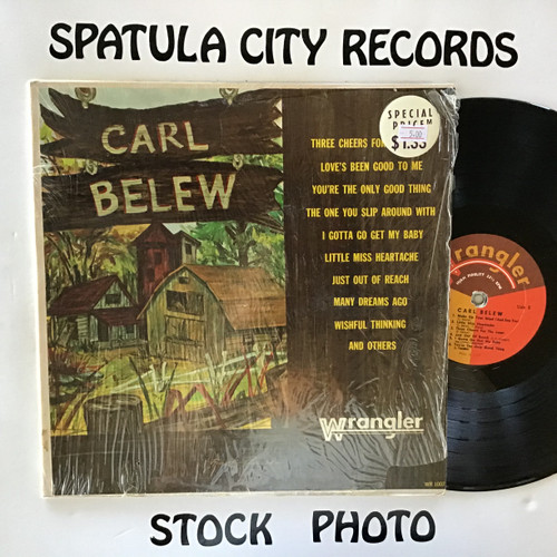 Carl Belew - Carl Belew - MONO - vinyl record LP