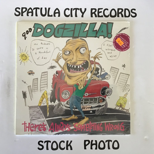 Dogzilla - There's Always Something Wrong - SEALED - vinyl record LP