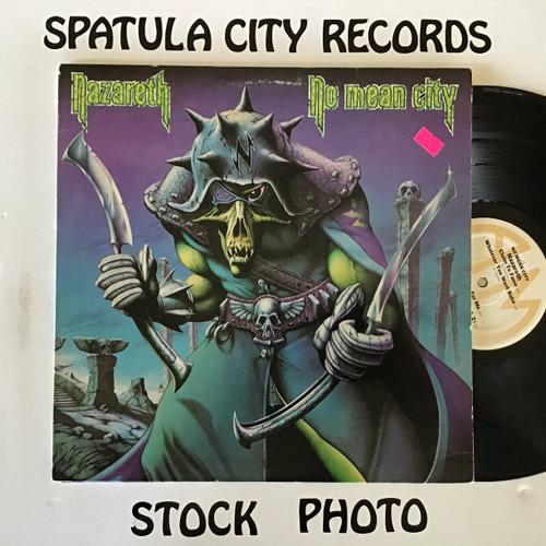 Nazareth - No Mean City - vinyl record LP