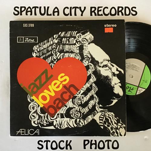 Frank Nizzari, Frank Gallagher, Fred Buda, Newton Wayland - Jazz Loves Bach - IMPORT - vinyl record LP