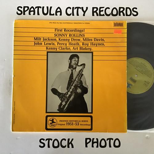 Sonny Rollins - First Recordings! - IMPORT - vinyl record LP