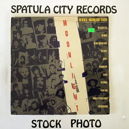 Moonlight Radio - compilation - IMPORT - vinyl record LP