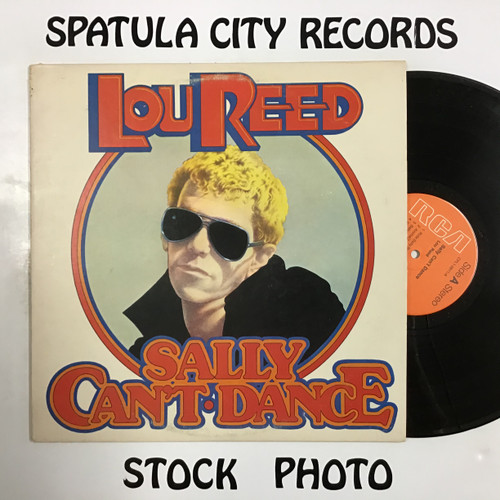 Lou Reed - Sally Can't Dance - vinyl record LP