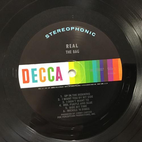 Bag, the - Real - vinyl record LP