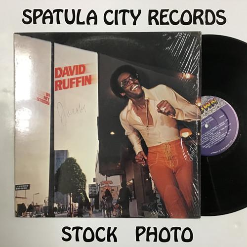 David Ruffin - In My Stride - vinyl record LP