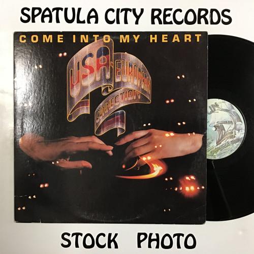USA-European Connection - Come Into My Heart - vinyl record LP