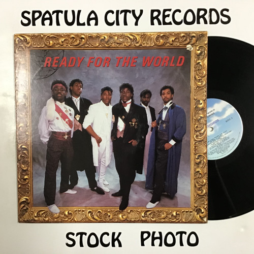 Ready for the World - Long Time Coming - vinyl record LP