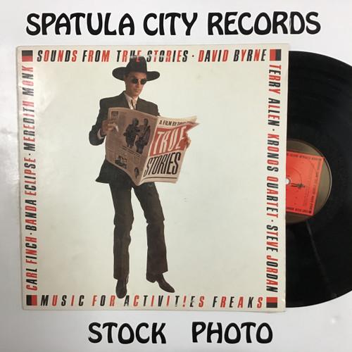 David Byrne - Sounds From True Stories - soundtrack - vinyl record LP