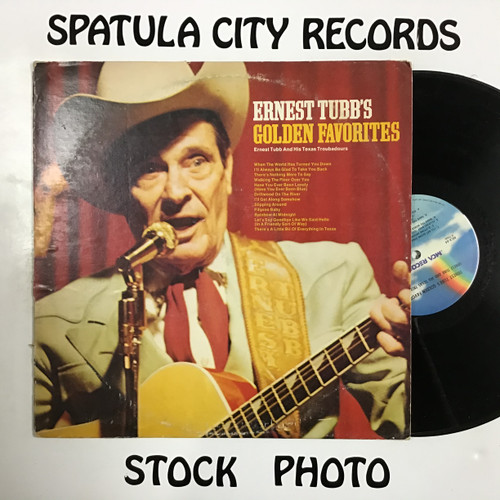 Ernest Tubb and His Texas Troubadours - Ernest Tubb's Golden Favorites - vinyl record LP