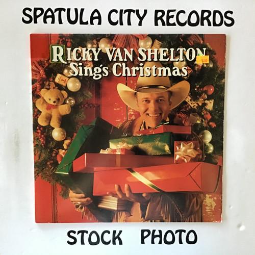 Ricky Van Shelton - Ricky Van Shelton Sings Christmas - vinyl record LP