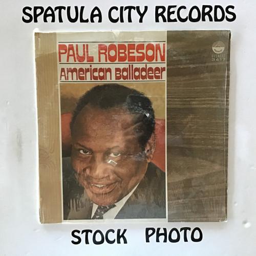 Paul Robeson - American Balladeer - vinyl record LP