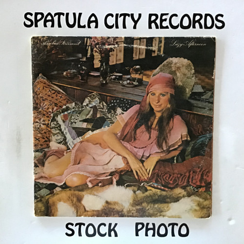 Barbra Streisand - Lazy Afternoon - vinyl record LP
