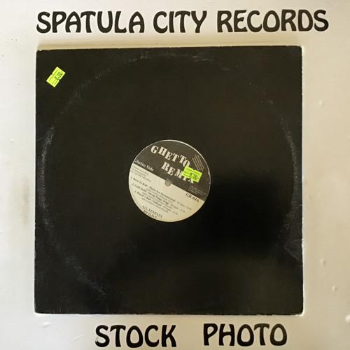 Ghetto Remix 4 - compilation - PROMO - vinyl record LP