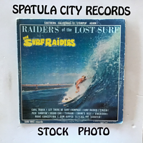 Surf Raiders, The - Raiders of the Lost Surf - vinyl record LP
