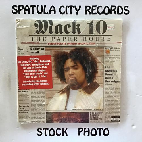 Mack 10 - The Paper Route - double vinyl record LP