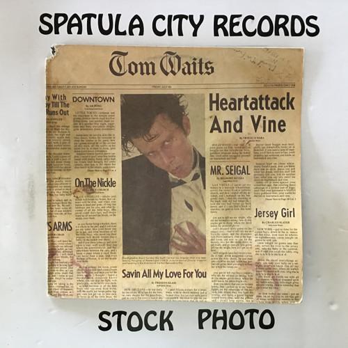 Tom Waits - On Heartattack and Vine - vinyl record LP