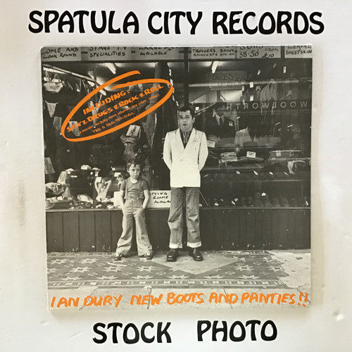 Ian Dury - New Boot and Panties - IMPORT - vinyl record LP