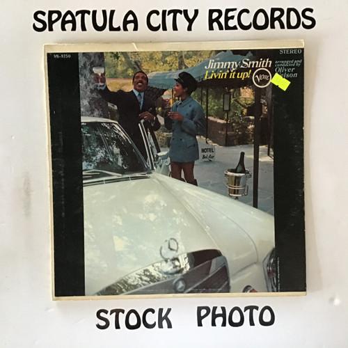 Jimmy Smith - Livin' It Up - vinyl record LP