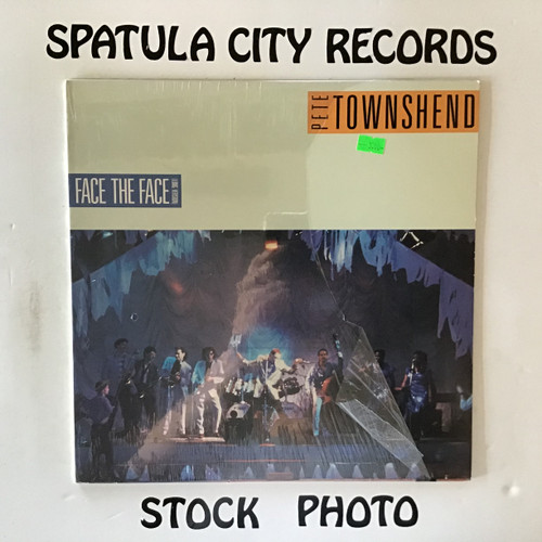 Pete Townshend - Face the Face - vinyl record LP