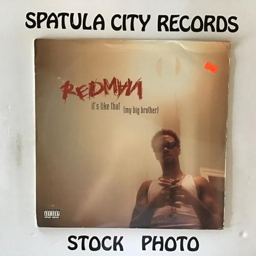 Redman - It's Like That (My Big Brother) - vinyl record LP
