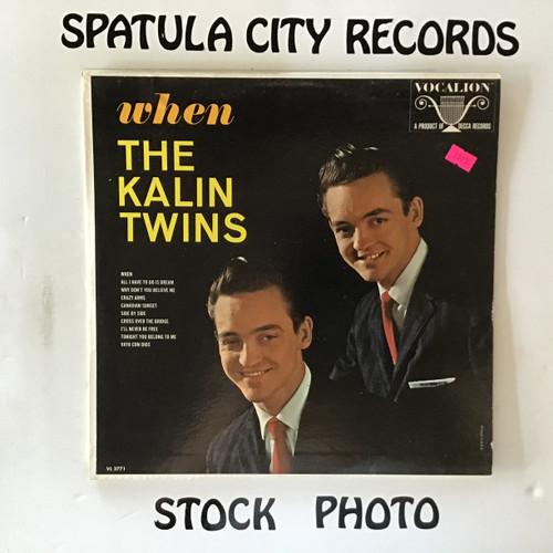 Kalin Twins, The - When - vinyl record LP
