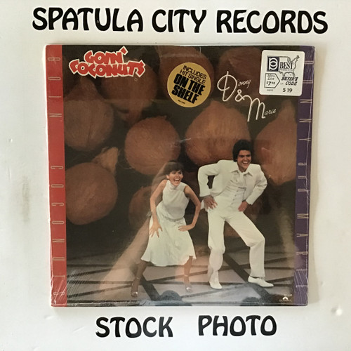 Donny and Marie - Goin' Coconuts - SEALED - vinyl record LP