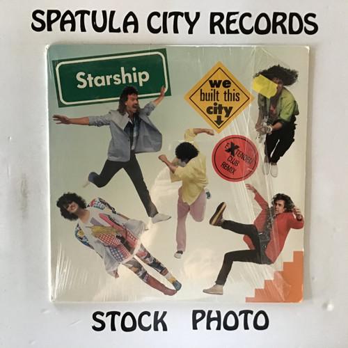 "Starship - We Built This City -  12"" single vinyl record LP"