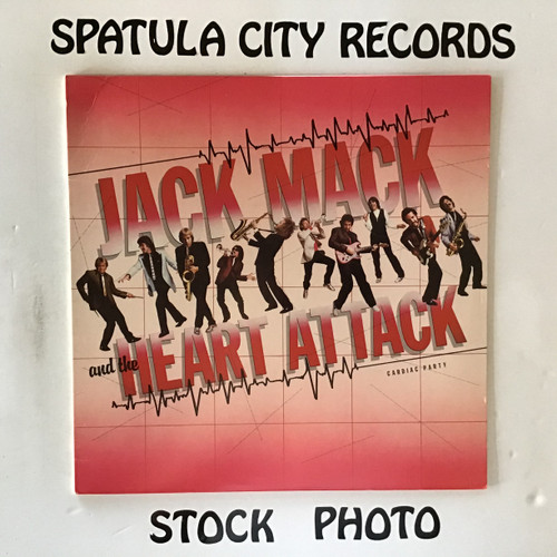 Jack Mack and The Heart Attack - Cardiac Party - vinyl record LP