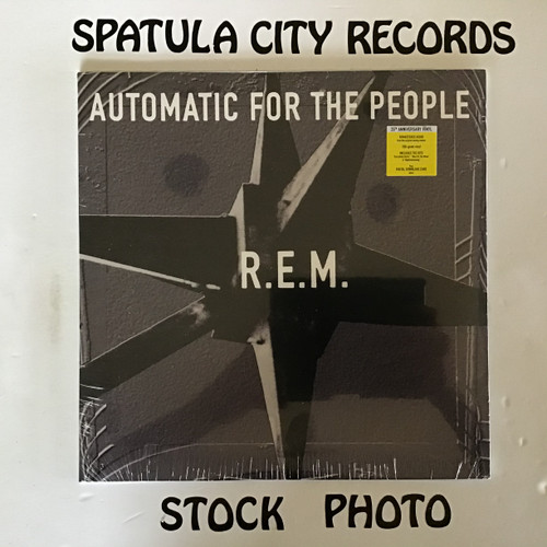 R.E.M. REM - Automatic for the People - SEALED 25th Anniversary Re-issue - vinyl record album LP