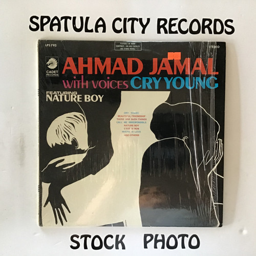 Ahmad Jamal with Voices - Cry Young - vinyl record LP